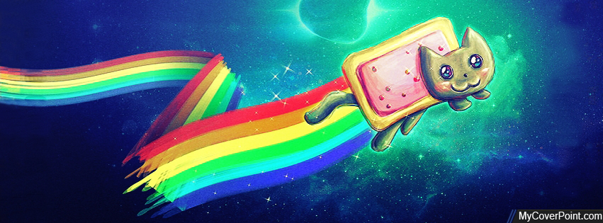 Nyan Cat FB Timeline Cover