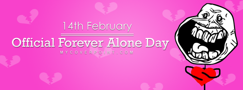 Official Forever Alone Day Facebook Timeline Cover
