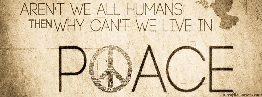 Peace Facebook Timeline Cover