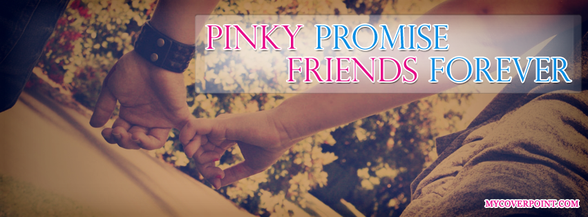 Pinky Promise Facebook Cover