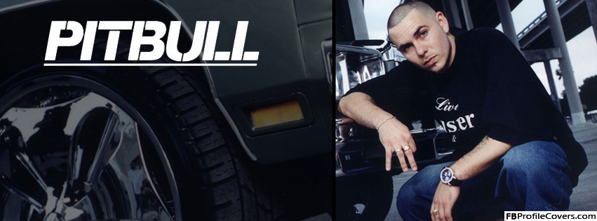 Pitbull Rapper Facebook Timeline Cover Photo