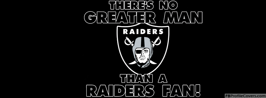 Raiders Fan Facebook Timeline Profile Cover - Raiders Football Team