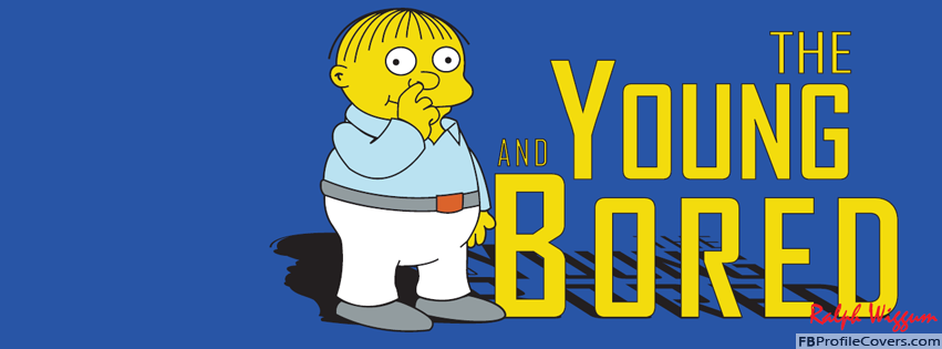 Ralph Wiggum The Sympsons Facebook Cover For Timeline