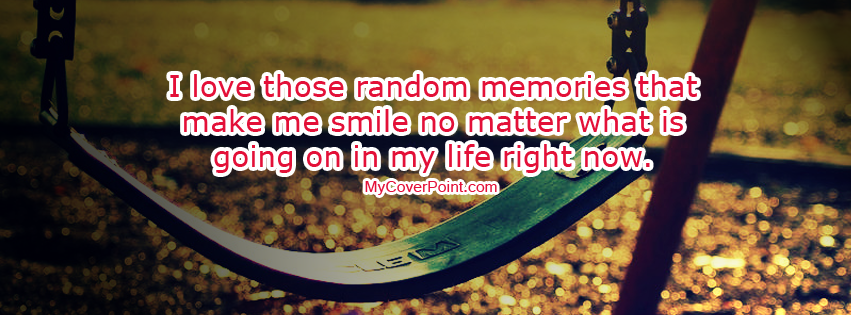 Random Memories Facebook Timeline Cover