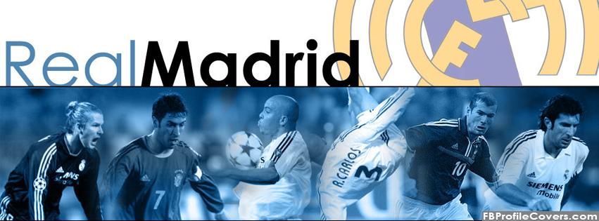 Real Madrid Facebook Timeline Cover