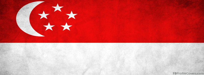 Singapore Flag Timeline Profile Cover Image