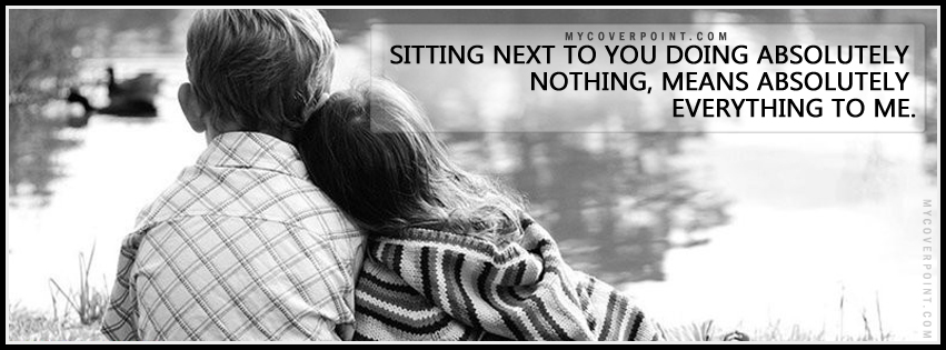 Sitting Next To You Facebook Cover