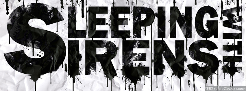 Sleeping With Sirens FB Timeline Cover