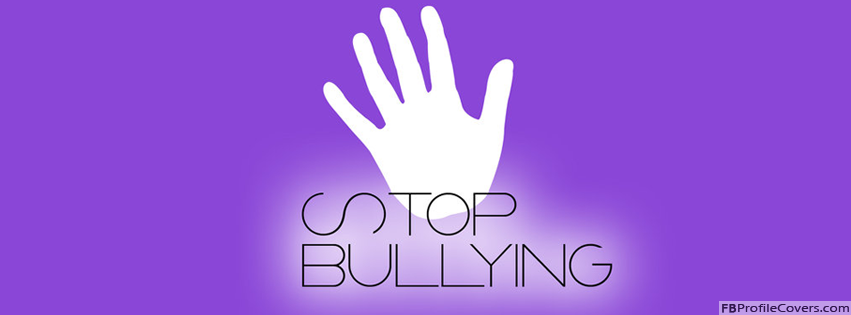 Stop Bullying Facebook Timeline Profile Cover Photo