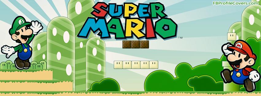 Super Mario Facebook Timeline Profile Cover
