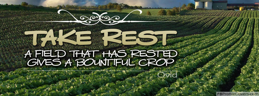Take Rest Facebook Timeline Cover