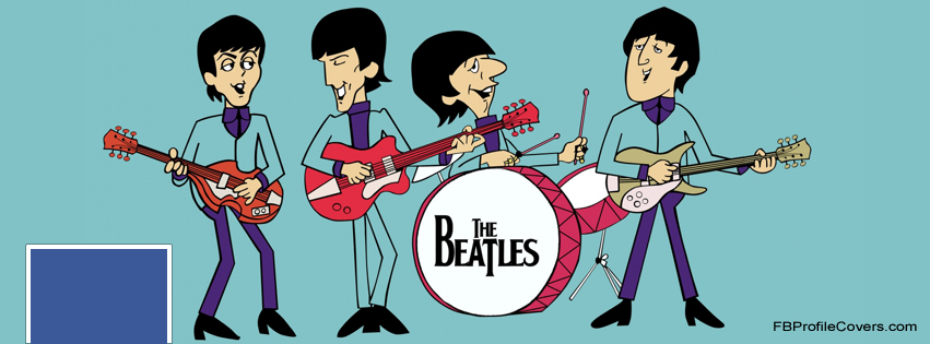 The Beatles Facebook Timeline Cover Image