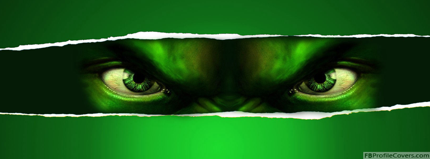 The Incredible Hulk Facebook Timeline Profile Cover Photo
