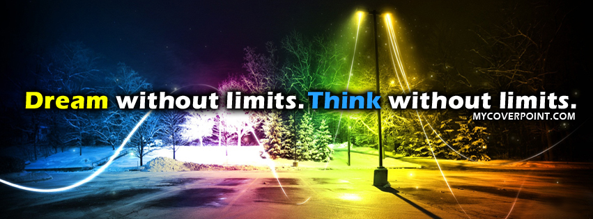 Think Without Limits Facebook Cover