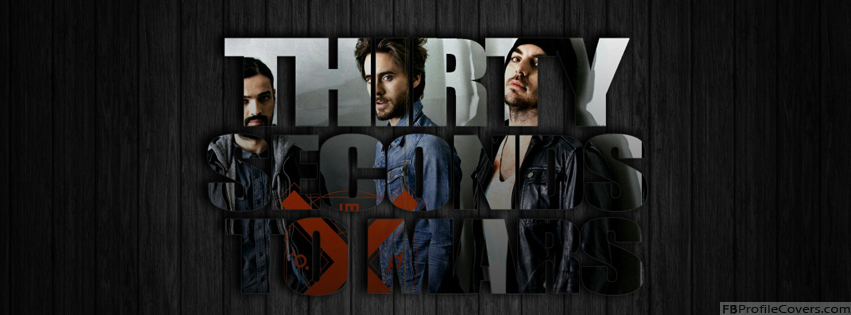Thirty Seconds To Mars Facebook Cover