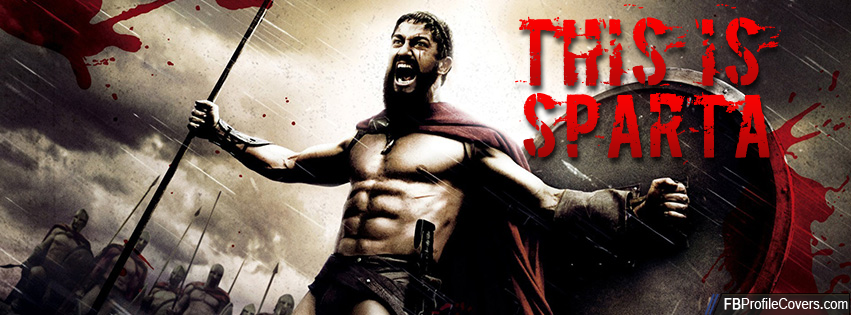 This is Sparta Facebook timeline cover photo