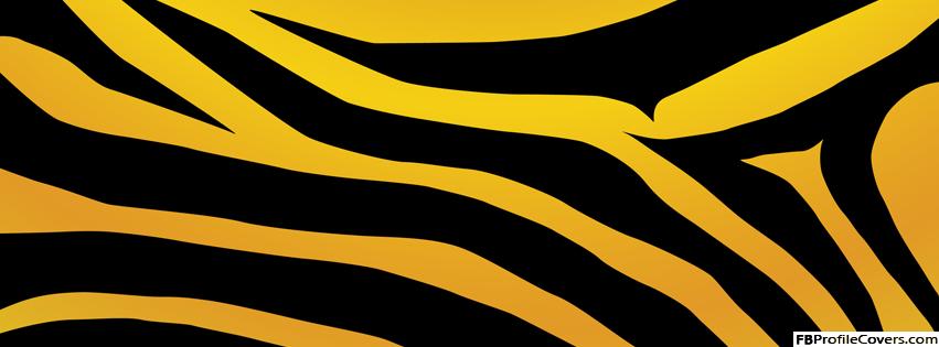 Tiger Print Facebook Timeline Cover Banner