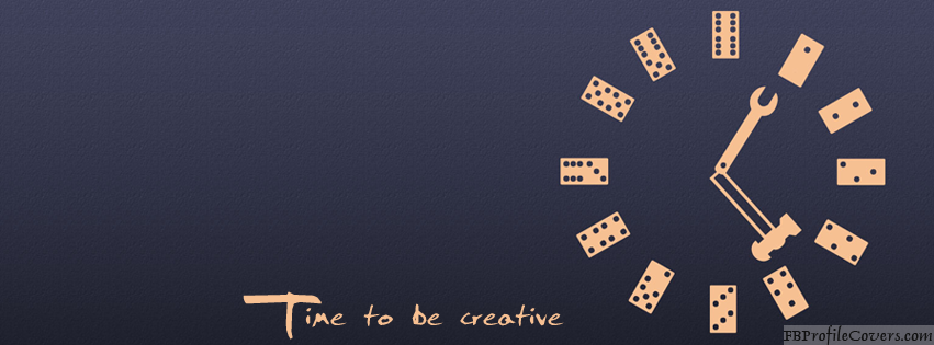 Time To Be Creative Facebook Timeline Cover