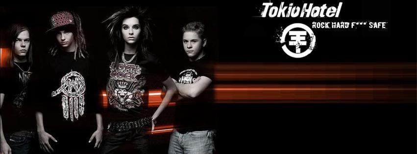 Tokio Hotel Facebook Timeline Cover