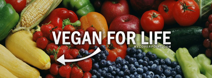 Vegan For Life Facebook Timeline Cover