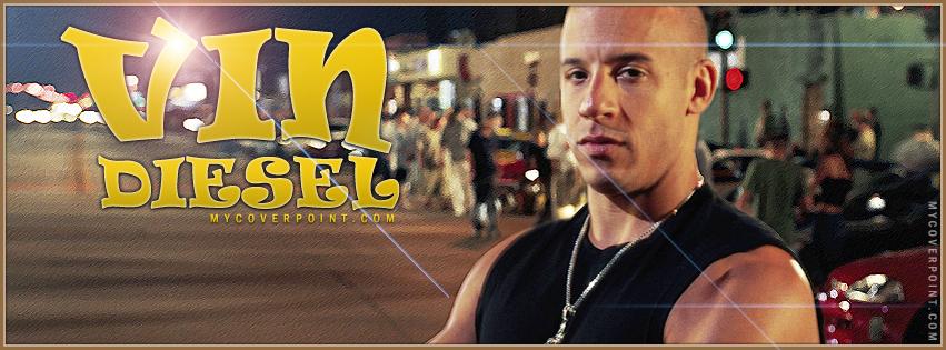 Vin Diesel Facebook Cover