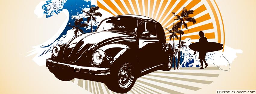Volkswagen Beetle Facebook Timeline Cover