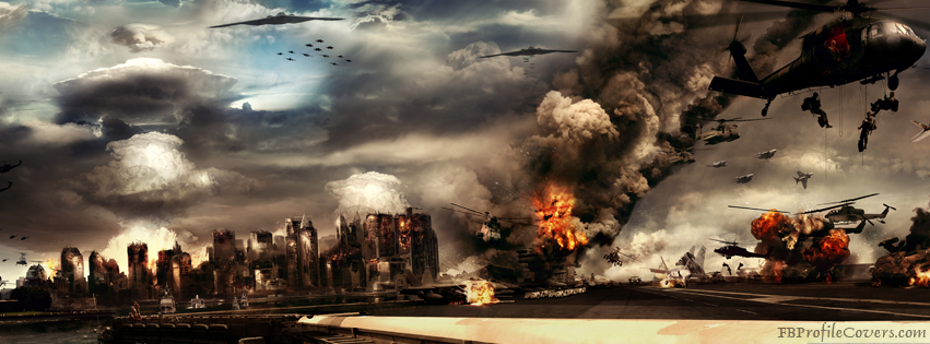 War Attack Facebook Timeline Cover