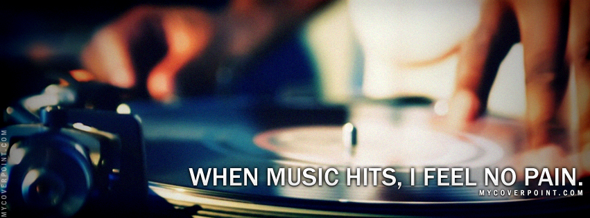 When Music Hits Facebook Cover