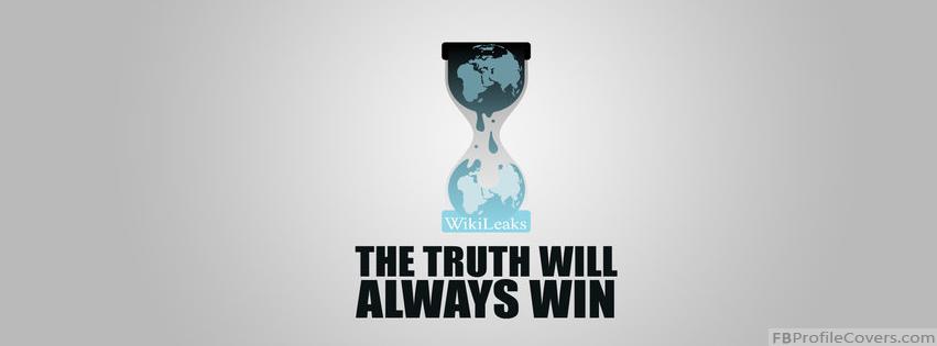 Wikileaks Facebook Timeline Cover