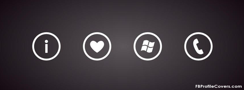 Windows phone lover Facebook timeline cover