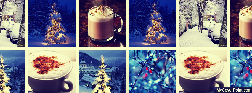 Winter Collage Facebook Timeline Cover
