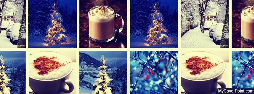 Winter Collage Facebook Timeline Cover