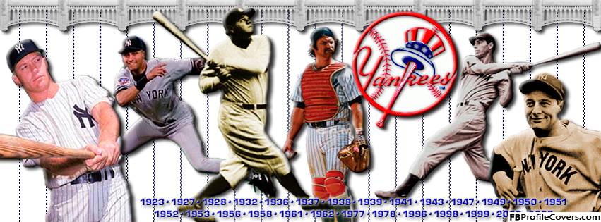 Yankees Facebook Timeline Cover Photo
