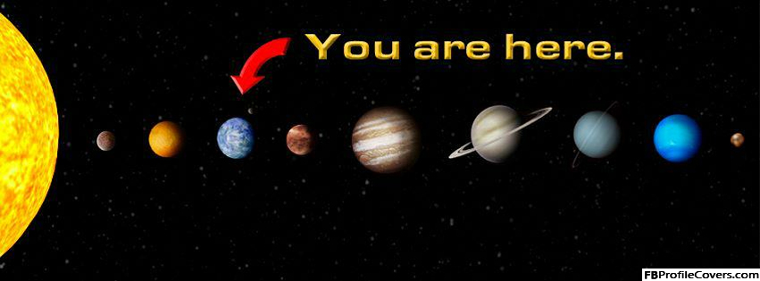 You Are Here Facebook Cover Image