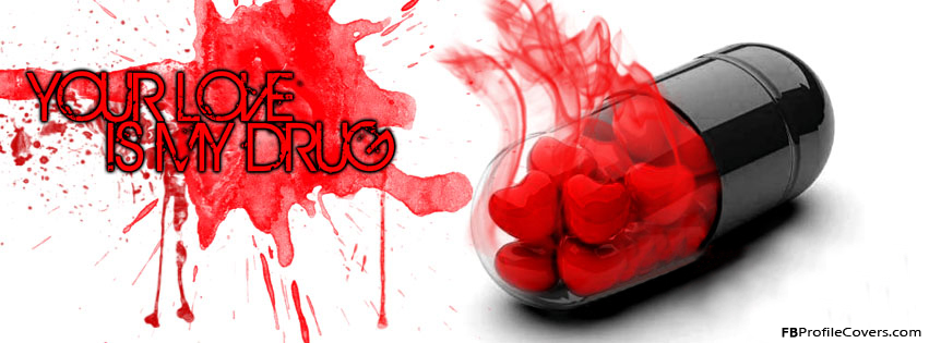 Your Love Is My Drug Facebook Timeline Cover Image