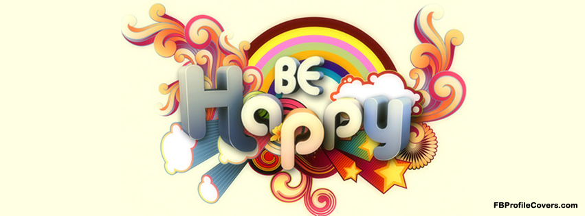 BE Happy Facebook Timeline Cover