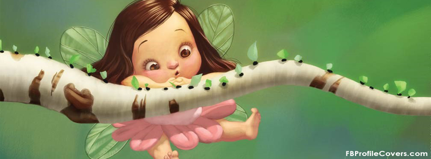 Cute Fairy Facebook timeline cover