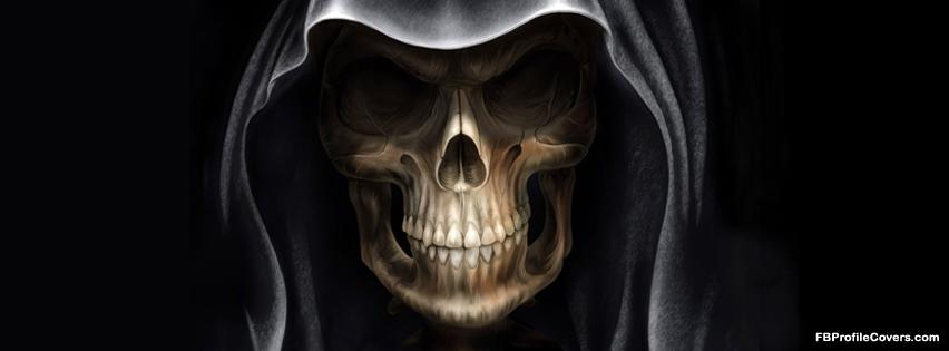 devil skull facebok cover, fb timeline profile covers