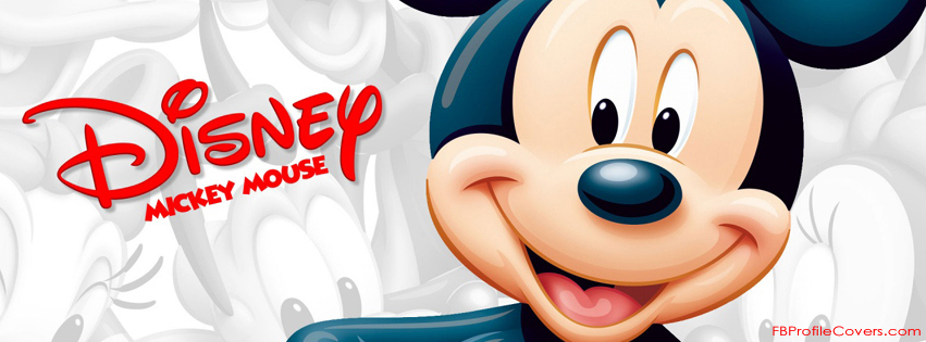 Disney Mickey Mouse Facebook Timeline Cover