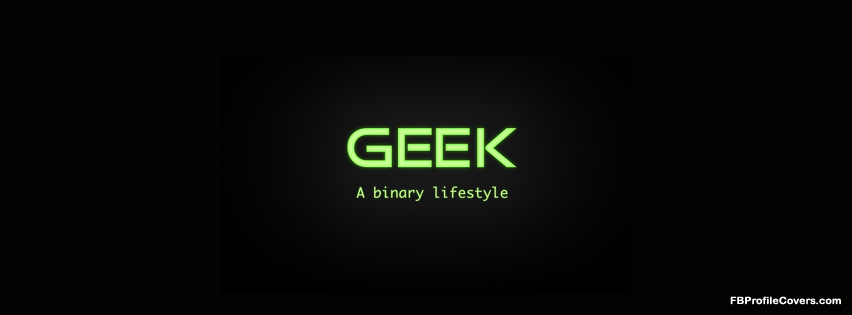geek lifestyle fb profile cover