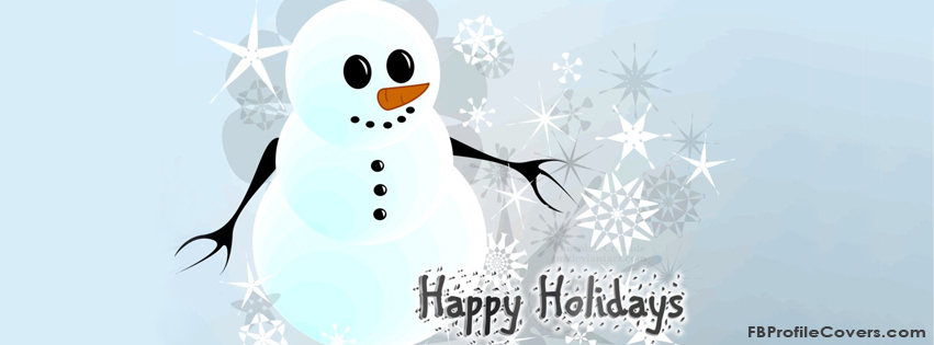 Happy Holidays - Facebook Timeline Cover