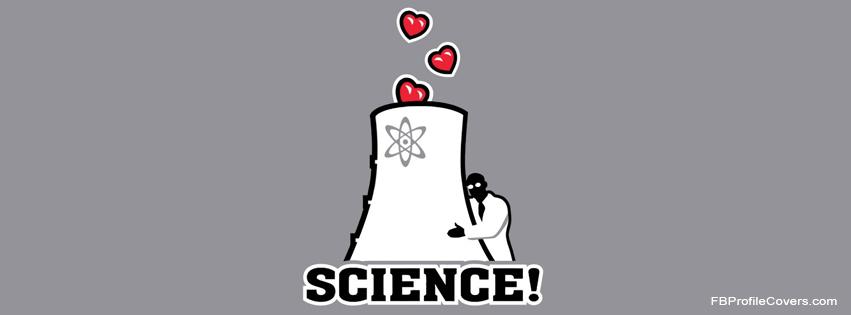 I Love Science Facebook Timeline Cover