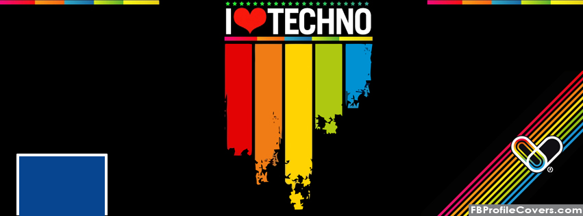 i love techno facebook timeline covers