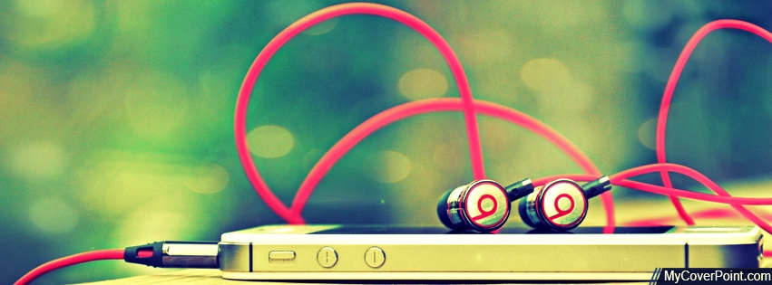 iPhone Beats Facebook Timeline Cover