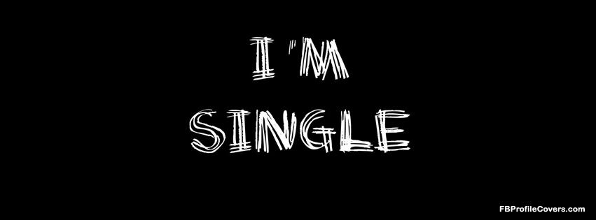 I'm single Facebook cover