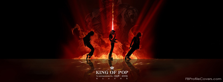 King of POP Facebook Cover