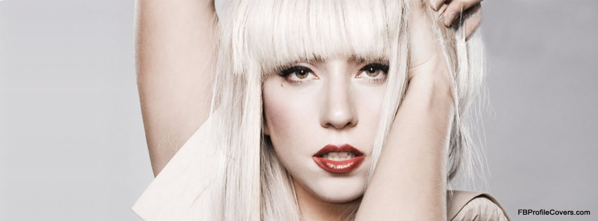 Lady Gaga Facebook Profile Cover for fb timeline
