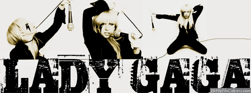 lady gaga fb timeline cover image