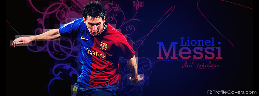 Lionel Messi Facebook timeline cover photo