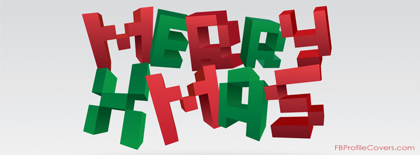 merry xmas facebook cover photo for timeline
